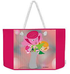 Friendly Flowers Weekender Tote Bag