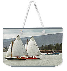 Friendly Sail Weekender Tote Bag