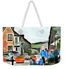 Friends At The Corner Weekender Tote Bag