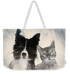 Friends For Life Weekender Tote Bag