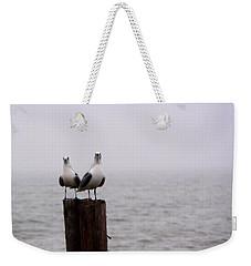 Friends In The Fog Weekender Tote Bag