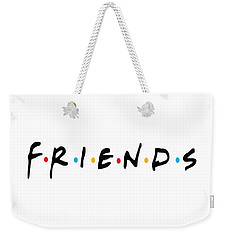 Friends Weekender Tote Bag by Jaime Friedman