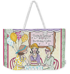 Friendship Cafe Weekender Tote Bag