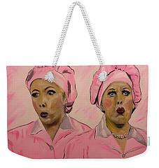Friendship Factor  Weekender Tote Bag by Miriam Moran