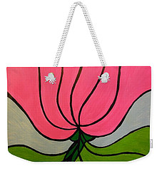 Friendship Flower Weekender Tote Bag