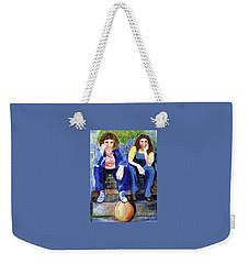 Friendship Weekender Tote Bag by Sandy McIntire