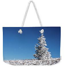 Frigid Winter Day On The Appalachian Trail Weekender Tote Bag by Serge Skiba