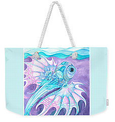 Frilled Fish Weekender Tote Bag