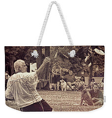 Frisbee Catcher Weekender Tote Bag