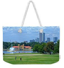 Frisbee In The Park Weekender Tote Bag