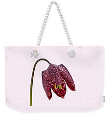 Fritillaria Meleagris Transparent Background Weekender Tote Bag