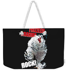 Frizzled Brahma T-shirt Print Weekender Tote Bag