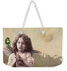 Frog Chorus Weekender Tote Bag by Olga Snell
