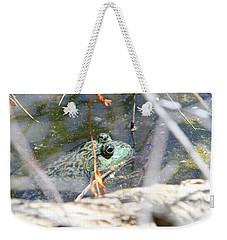Frog Eyes Weekender Tote Bag