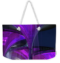 Frog Fountain At Texas Christian University Weekender Tote Bag