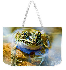 Frog In Pond Weekender Tote Bag