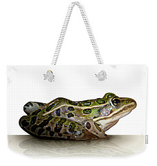 Frog Weekender Tote Bag by James Larkin