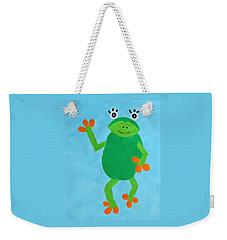 Froggie Weekender Tote Bag