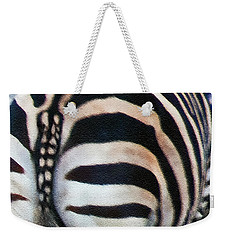 Weekender Tote Bag featuring the photograph From Behind by Hanny Heim