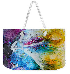 From Captivity To Creativity Weekender Tote Bag