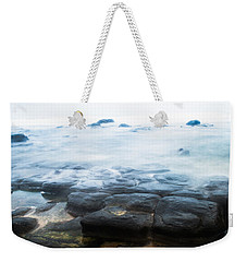 Weekender Tote Bag featuring the photograph From Dark To Light by Parker Cunningham