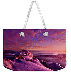 Weekender Tote Bag featuring the photograph From Inside The Heart Of Each by Phil Koch