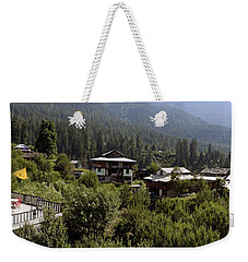 From My Balcony Weekender Tote Bag