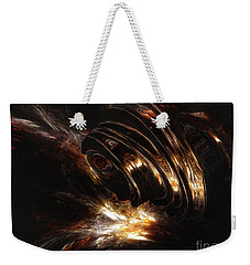 Weekender Tote Bag featuring the digital art From The Beyond by Isabella F Abbie Shores FRSA