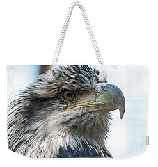 From The Bird's Eye Weekender Tote Bag