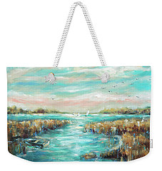 From The Bridge Weekender Tote Bag