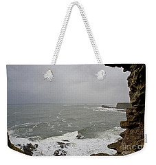 From The Castle Wall Weekender Tote Bag