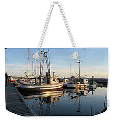 From The Dock At Powell River Weekender Tote Bag