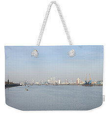 From The Ferry Boat - John Newman - Woolwich Arsenal - London Weekender Tote Bag by Mudiama Kammoh