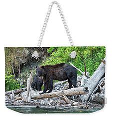 From The Great Bear Rainforest Weekender Tote Bag by Scott Warner