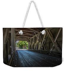From The Inside Looking Out - Shimanek Bridge Weekender Tote Bag