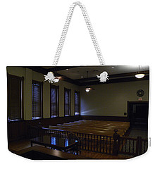 From The Judge's Bench 000 Weekender Tote Bag
