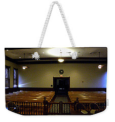 From The Judge's Bench  Weekender Tote Bag