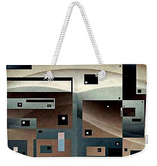 Weekender Tote Bag featuring the photograph from the ongoing series Post Modern Woman by Jack Dillhunt