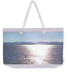 From The Sea Poster Weekender Tote Bag by Felipe Adan Lerma