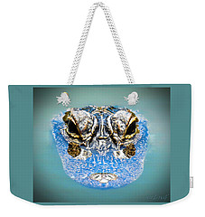 From The Series I Am Gator Number 4 Weekender Tote Bag