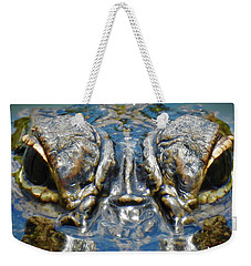 From The Series I Am Gator Number 7 Weekender Tote Bag