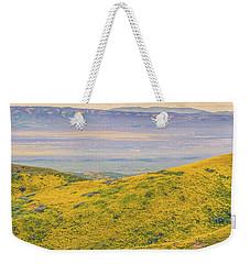 From The Temblor Range To The Caliente Range Weekender Tote Bag
