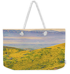 From The Temblor Range To The Caliente Range Weekender Tote Bag