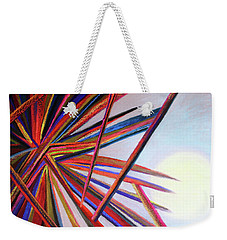 From Violence To Hope Weekender Tote Bag by Polly Castor