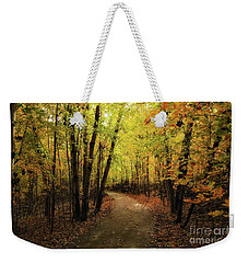 Frontenac State Park In Autumn Weekender Tote Bag by Jimmy Ostgard