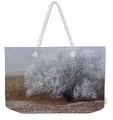Frost And Fog Weekender Tote Bag by Alana Thrower