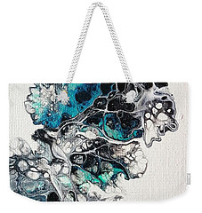 Frost And Ice Weekender Tote Bag
