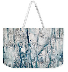 Frost And Rain On The Windows Weekender Tote Bag