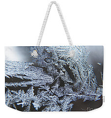 Frost Branches Weekender Tote Bag