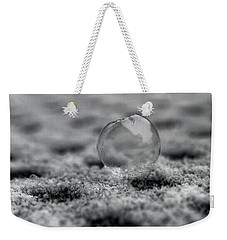 Frost Bubble Weekender Tote Bag